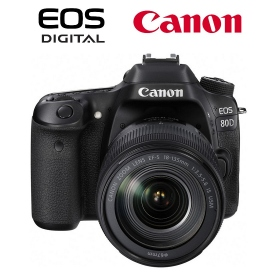 Canon EOS 80D + EF-S 18-135 IS Nano USM - Assistenza in Italia - OMAGGIO SD 32GB Classe 10