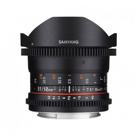 Samyang 12mm T3.1 VDSLR ED AS NCS Fisheye (Fuji X)