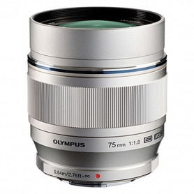 Olympus M.Zuiko Digital ED 75mm f/1.8 Silver