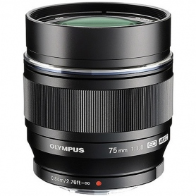 Olympus M.Zuiko Digital ED 75mm f/1.8 (Black / Nero)