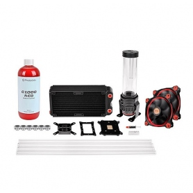 Thermaltake Kit Raffreddamento A Liquido Pacific Rl 240Mm D5 Red Full Socket CL-W128-CA12RE-A