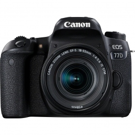 Canon EOS 77D + EF-S 18-55mm IS STM - Assistenza in Italia - OMAGGIO SD 32GB Classe 10
