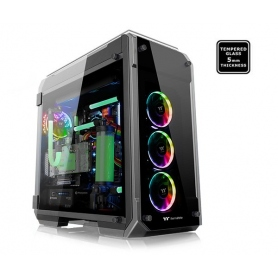 Thermaltake Case Gaming Full Tower View 71 RGB Side Panel Tempered Glass 5Mm Black / Nero CA-1i7-00F1WN-01
