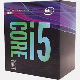 Intel i5-8400 Six Core 2.80Ghz 9MB 65W Skt1151 Box BX80684i58400