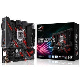 Asus Rog Strix B360-G G M-ATX DDR4 SATA3 M.2 USB 3.0 Skt1151 DVI HDMI 90MB0WD0-M0EAY0