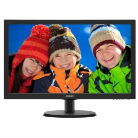 Philips Monitor 22 LED 200Cd/m2 5ms 60Hz Black HDMI 223V5LHSB2/00