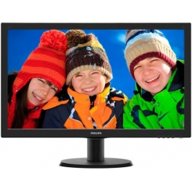 Philips Monitor 24 LED 250Cd/m2 HDMI 1ms 60Hz Black 243V5LHSB/00