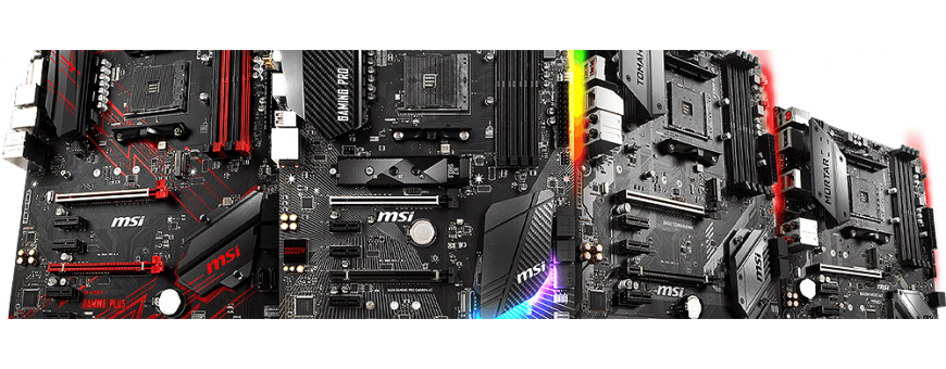 Motherboards per CPU AMD