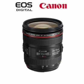 Canon EF 24-70mm f-4 IS L USM - SCATOLA BIANCA - Assistenza Italia