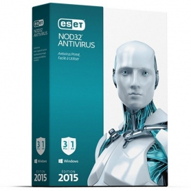 Eset Nod32 V.8 Antivirus Full Antivir-Antispy 2Pc Box 98102
