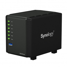 Synology Nas Gigabit 2Xrj45 SATA 2-3 4Bay Raid 0-1-5-6 Black - Nero DS416SLIM