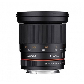Samyang 20mm F1.8 ED AS UMC (Micro 4-3)