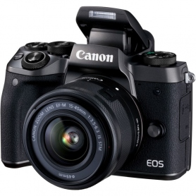 Canon EOS M5 + 15-45mm 3.5-6.3 IS STM, Assistenza Italia .1279C044