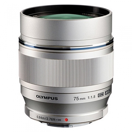 Olympus M.Zuiko Digital ED 75mm f-1.8 Silver