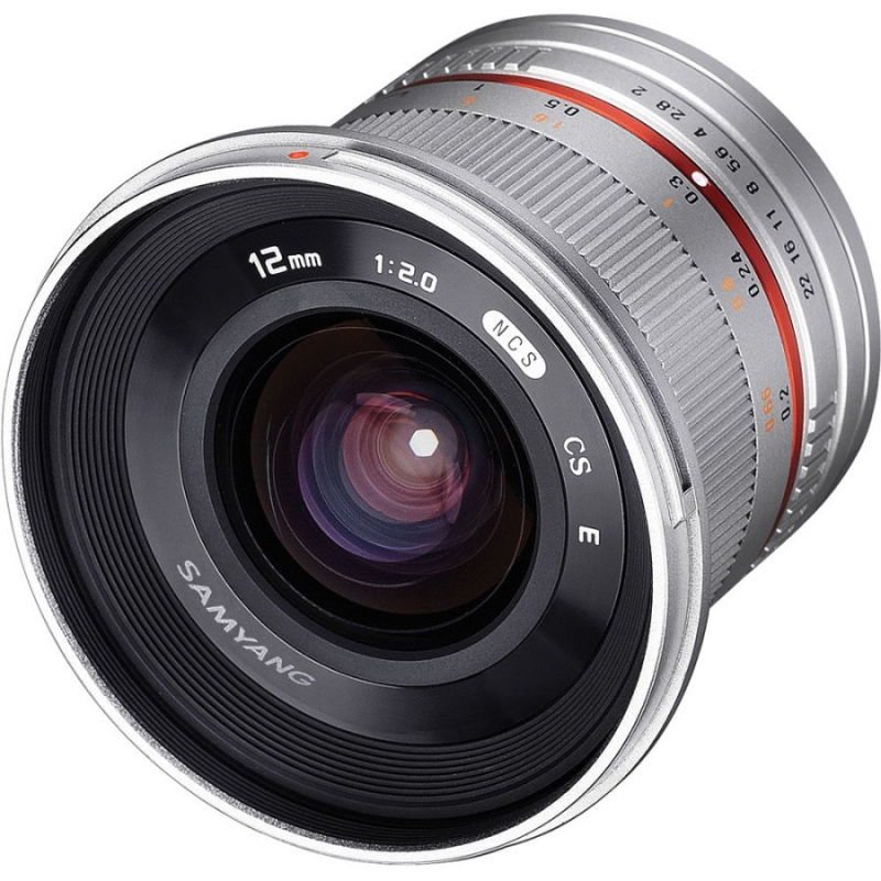 Samyang 12 mm f-2.0 NCS CS Silver (Sony E)