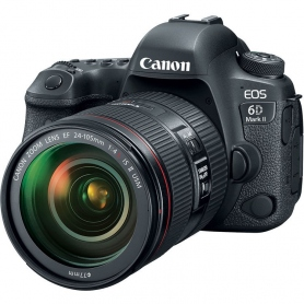Canon EOS 6D Mark II - manuale in ITALIANO + EF 24-105 f-4 II IS USM - Omaggio SD 16GB classe 10, Assisten