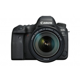 Canon EOS 6D Mark II - manuale in ITALIANO + EF 24-105 f-3.5-5.6 IS STM - Omaggio SD 16GB classe 10, Assist