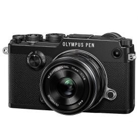 Olympus PEN-F + 17mm f-1.8 Black