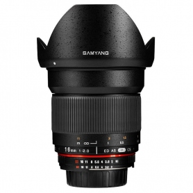 Samyang 16mm f-2.0 ED AS UMC CS per Canon M