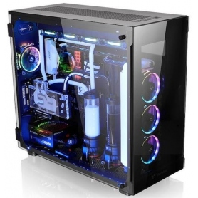 Thermaltake Case Thermaltake View 91 Panel Tempered Glass 5mm RGB Edition Super Tower CA-1I9-00F1WN-00