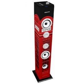 Majestic Cassa a Torre Bass 60W Subwoofer Bluetooth 2.1 Fm-USB-Sd-Mmc Aux Uk Traditional Image TS-85-UK