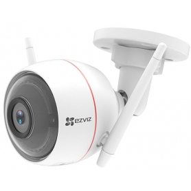 Ezviz Telecamera da Esterno Wireless Husky Air Tube Plus 2Mpx Cmos@1-2.7 1080P Ip66 Focale@2.8mm Poe Ir@30mt White 303100573