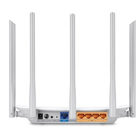 Tp-Link Router Wireless Dual-Band 450Mbps 3 Antenne da 2.4Ghz e 2 Antenne da 5Ghz White ARCHER-C60