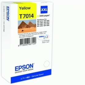 Epson Cartuccia Inkjet Piramidi T7014 Xxl Yellow 34.2Ml C13T70144010