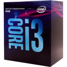 Intel i3-8100 Quad Core 3.6Ghz 6MB 65W Skt1151 Box BX80684I38100
