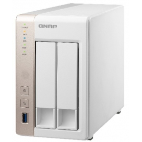 Qnap Nas 2 Bay Quadcore DDR3 2GB TS-251P-2G