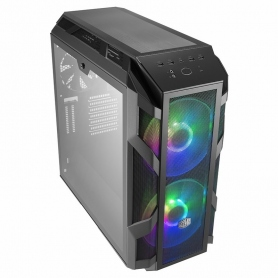 Cooler Master Master Case H500M ATX USB 2.0 Black and Temperate Glass 2X20Cm RGB Front Fan MCM-H500M-IHNN-S00