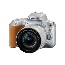 Canon EOS 200D + EF-S 18-55mm f-3.5-5.6 IS STM Bulk Silver - Assistenza Italia