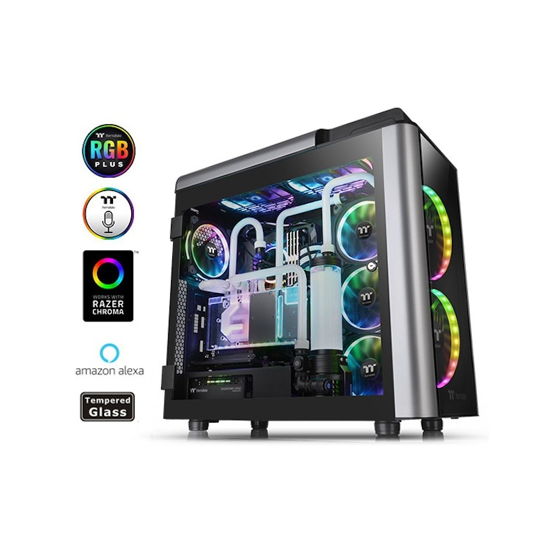 Thermaltake Case Gaming Full Tower Level 20 Gt RGB Plus Edition  CA-1K9-00F1WN-01 - GigaPC