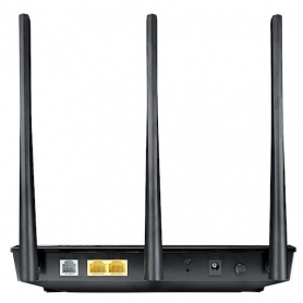 Asus Router Modem Wireless 750Mbps 2N 3 Antenne Black 90IG0471-BO3100