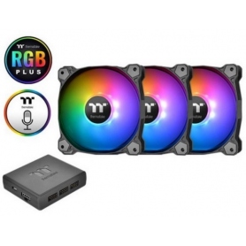 Thermaltake Kit Pure Plus 12 RGB 3 Ventole Case 120X120mm + Controller CL-F063-PL12SWA
