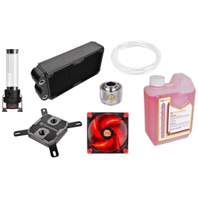 Thermaltake Kit Raffreddamento a Liquido Pacific Rl 240 Red Pt 40-D5 CL-W063-CA00BL-A