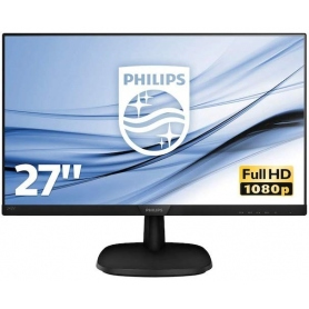 Philips Monitor 27 IPS Full HD HDMI-Vga-Dp Multimediale Black 273V7QJAB-00