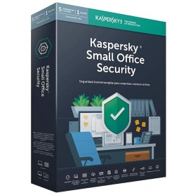 Kaspersky Lab Kaspersky Small Office Security 6 5-Mobile Device 5-Pc 1-Fileserver 5-User 1Anno Base Box KL4535X5E