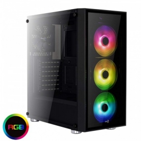 Aerocool Quartz RGB Case Middle Tower Full Tempered Glass Panel ACCM-PB07043.71