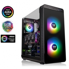 Thermaltake Case Mid Tower View 37 ArGB Edition CA-1J7-00M1WN-04