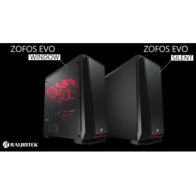 Raij Raijintek Case Zofos Evo Windows Big Tower Nero Finestra Or200073 OR200073
