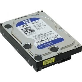 Western Digital 2TB 5400Rpm 3.5 SATA 3 64MB Blue Internal WD20EZRZ