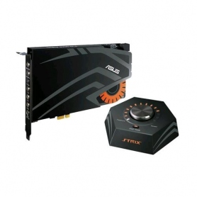 Asus Strix Raid Dlx Scheda Audio Gaming 7.1 24 Bit Interfaccia PCI Express 1X con Telecomando 90YB00H0-M1UA00