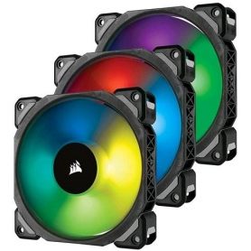 Corsair Ml120 Premium, Levitaz Magnetica da 120mm, elevata Press Statica, 3pz + Lighting Node & Hub, RGB CO-9050076-WW