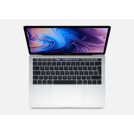 Apple Macbook Pro With Touch Bar 13 1.4Ghz Quad-Core 8Th-Generation Intel Core I5 Processor, 256GB - Silver MUHR2T-A