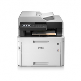 Brother LED 4In1 MfCL-3750Cdw A4 Colori 24Ppm F-R Adf 50Ff USB-Eth-Wireless Display Touch Scanner Copiatrice Fax MFCL3750CDW