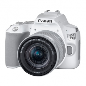 Canon EOS 200D Mark II (250D) + 18-55mm STM White - Assistenza Italia