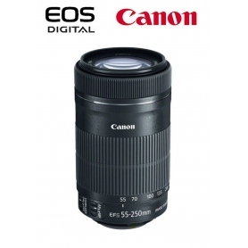 Canon EF-S 55-250mm f-4-5.6 IS STM SCATOLA BIANCA - Assistenza Italia