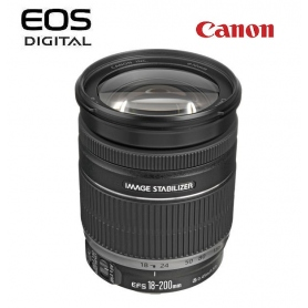 Canon EF-S 18-200mm f-3.5-5.6 IS - SCATOLA BIANCA - Assistenza Italia