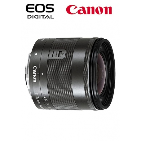 Canon EF-M 11-22mm f-4-5.6 IS STM per EOS M